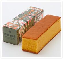 紙箱入カステイラ(カステラ) 6×22cm