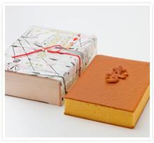 婚礼用カステイラ(カステラ)(木箱)22×30cm